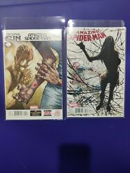 Amazing Spiderman 4 Silk set Ramos Signed