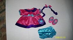 Cabbage Patch Kid Doll Tru Dolls Baby Girl  Pink N Purple Outfit