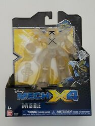 Disney#x27;s Mech X4 5quot; Invisible Battle Robot with Drill New in Box Kids Toy Gift $15.99
