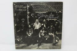 Gregg Allman Signed Autograph Album Vinyl Record Brothers Band Fillmore East