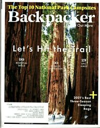 Backpacker Magazine 2020 Issues $2.00