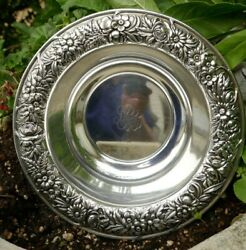 S. Kirk And Son Sterling 10 Bowl In Repousse Pattern - Model Number 30f , 515.2 G