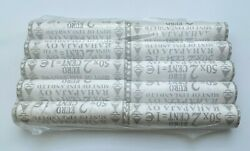 Finland Euro Cent Rolls 10x 2 Euro Cent Roll 1999 500 Pcs Total - Unc Scarce