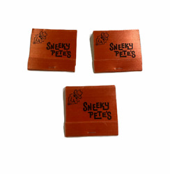 Lot Of 3 Vintage Sneeky Pete's Matchbooks Los Angeles - New Old Stock - Unstruck