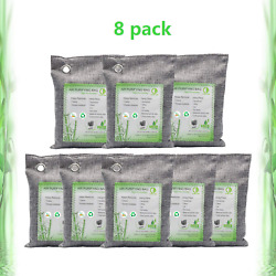Activated Bamboo Charcoal Bags Air Purifying Bags Natural Air Purifier Freshener