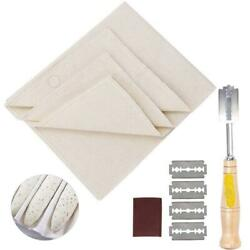 French Baguette Baking Tools Kit with Proofing Linen Cloth Fermented Couche Tool $37.71