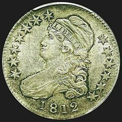 1812 Capped Bust Half Dollar Pcgs Au-58 Lustrous Beauty Rotated Die Cbh020
