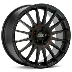 Set Of 4 Alloy Wheels Oz Racing Superturismo Gt - 7x18 / 4x100 / Et42