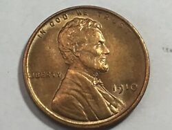 1910 Proof Matte Finish Lincoln Wheat Penny Super High Grade Choice Condition 12