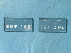 1939 - 1947 Dodge And Plymouth Truck Gauge Glasses. 1946-1968 Power Wagon Too