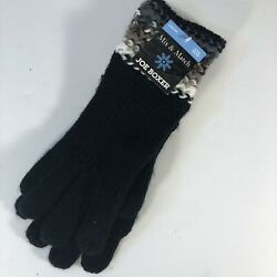 NEW with tags Ladies knit warm gloves black white brown Joe Boxer mix and match