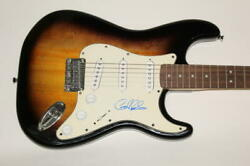 Gary Clark Jr Signed Autograph Fender Brand Electric Guitar This Land Blak And Blu