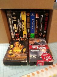 Lot Of 11 Vhs Tapes Mainly Drama. L4