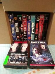 Lot Of 11 Vhs Tapes Mainly Action. L6