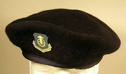 Usaf Us Air Force Systems Command Afsc Security Police Crest Badge Beret
