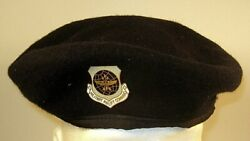Us Air Force Security Police Military Airlift Command Mac Crest Badge Beret