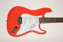 Luke Bryan Signed Autograph Fender Brand Electric Guitar - Tailgates And Tanlines