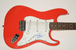 Conan Oand039brien Signed Autograph Fender Brand Electric Guitar - The Tonight Show
