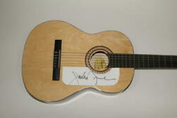 Jackson Browne Signed Autograph Fender Brand Acoustic Guitar - Running On Empty