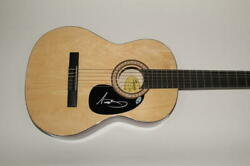 Nathaniel Rateliff Signed Autograph Fender Brand Acoustic Guitar S.o.b. Beckett