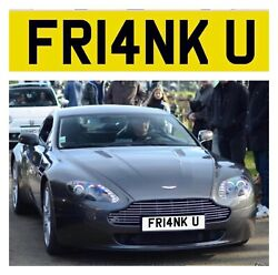 Private Number Plate Fr14nk U Frank Funny Rude Short Name Reg Cheap Bmw Amg Omg