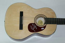 James Taylor Signed Autograph Fender Brand Acoustic Guitar - Sweet Baby Psa