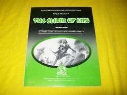 Rpga 4 The Elixir Of Life Dungeons And Dragons Adandd - 1 Very Rare