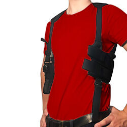Shoulder Gun Holster Fully Adjustable For Most Handguns Or Pistol Conceal Carry $16.97