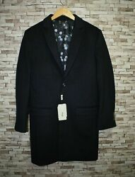 Brioni Mens Wool Coat Suit Jacket Size 52 - Made In Italy - New With Tag 7995