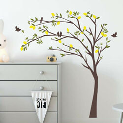 Tree Bird Photo Frame Family Removable Wall Stickers Home Decor Decal Ornament