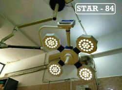 Surgical Operating Theater Lights Star 84 Examination Led Yellow And White Light