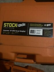 New Stockade Impulse St-315i Cordless Fence Stapler Schematic And Parts