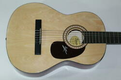 Matisyahu Signed Autograph Fender Brand Acoustic Guitar - Youth Undercurrent