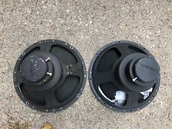 Pair Of Vintage Altec Hollywood 604 And 604b Speakers 16-ohm And 20-ohm Tested