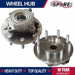 2 Front Wheel Bearing And Hub For 2004 - 2007 2008 Chevy Colorado Gmc Canyon 2wd