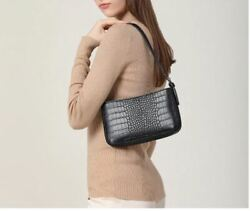 Retro crocodile pattern shoulder messenger bags for women Ladies Vintage Handbag $12.99