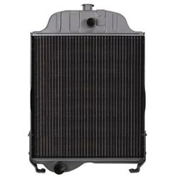At48171 Radiator For John Deere Tractor 1520 300b 301a 302 W/o Oil Cooler