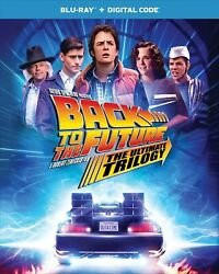 Back to the Future Trilogy Blu ray Michael J. Fox NEW $29.99