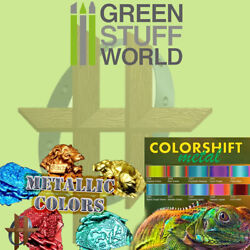 Green Stuff World Colorshift Metallic Chameleon and Other Effect Paints