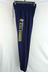 Mens Under Armour Tapered Joggers Track Sweat Pants Size Small Georgia Tech GT