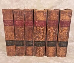 1810 The Holy Bible Books 6 Vols By Thomas Scott Publ Whiting And Watson New York