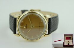Vintage Omega Gold Plated 2743-4 Cal 266 Year 1954 Menand039s Watch