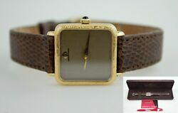 Vintage Baume And Mercier Bm.777 18k Yellow Gold Watch