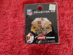 49ers Game Day Pin 08 26 2016 Levi Stadium Green Bay Packers Gameday Rare