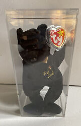 Ty Beanie Baby The End Bear - Retired With Errors - New In Collector Box 1999