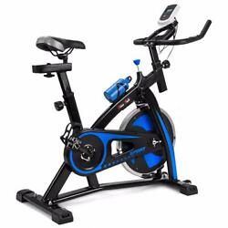 Stationary Excercise Bicycle - Cardio Machine Bike Health Workout Fit Premium