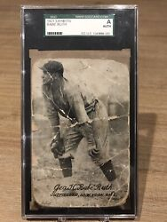 1921 Exhibits Babe Ruth SGC Graded Authentic