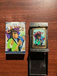 Joe Camel Zippo Collector Pack Mardi Gras With Matching Pack [mint Condition]