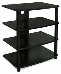 Mount-it Media Stand Entertainment Center For Tv Audio Video Components
