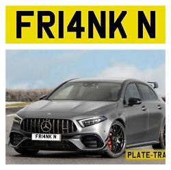 Private Number Plate Fr14nk N Franklin Frankie Funny Rude Short Name Reg Cheap